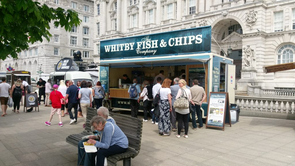 The Whitby Fish & Chips Company Trailer